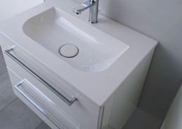 Waschtisch-Anlage oben